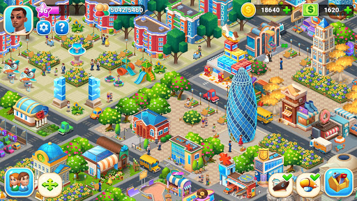 Farm City : Farming & City Building apkpoly screenshots 4
