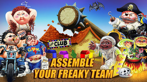 Garbage Pail Kids : The Game apkpoly screenshots 7