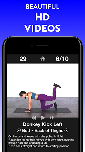 Daily Workouts Free - Home Fitness Workout Trainer 6.30 Screenshots 14
