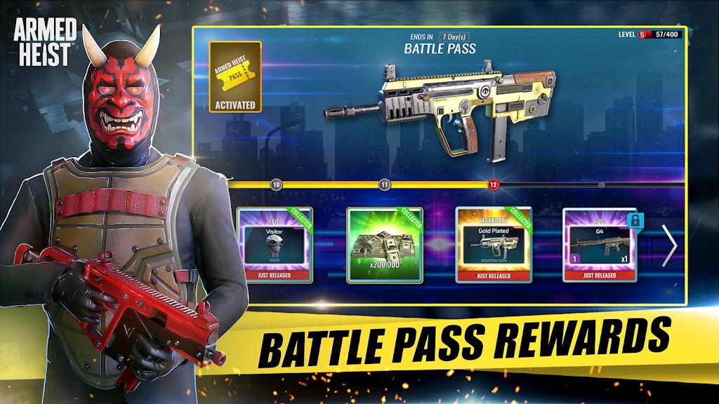 Armed Heist: TPS 3D Sniper shooting gun games  poster 9