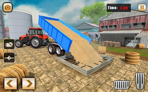 Real Tractor Drive Cargo 3D: New tractor game 2020 5