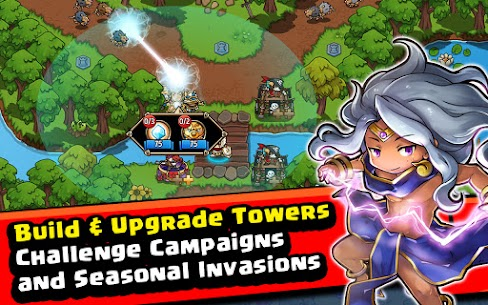 Crazy Defense Heroes: Tower Defense Strategy Mod Apk (Unlimited Resources) 10
