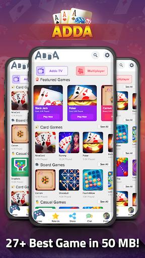 Adda : Call Break , Teen Patti , Rummy , Solitaire 10.68 screenshots 1