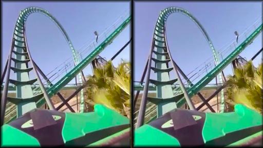 VR Thrills: Roller Coaster 360 (Cardboard Game) 2.1.7 Screenshots 13