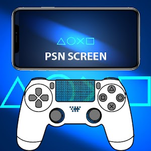 Remote PSN Screen Second Screen for Smarthphone 1.0 by Code Apps Blue logo