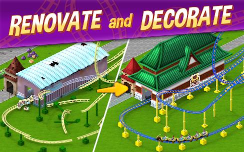 Baixar RollerCoaster Tycoon Story MOD APK 1.4.5 – {Versão atualizada} 1