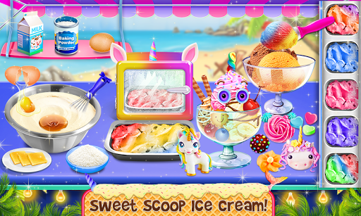 Ice Cream - Frozen Desserts Rainbow Unicorn  screenshots 5