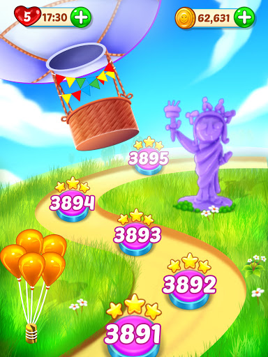 Balloon Paradise - Free Match 3 Puzzle Game 4.1.5 screenshots 12