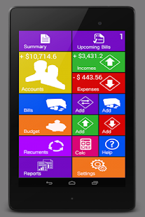 Home Budget Manager Lite With Sync Screenshot