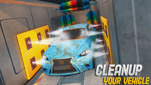 Mobile Car Wash Workshop: Service Truck Games 1.24 Screenshots 9