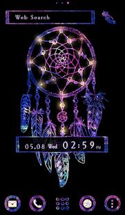 Stylish Wallpaper Galaxy Dreamcatcher Theme