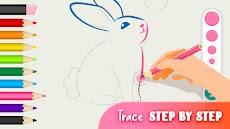 着色や描く出来る動物の塗り絵 - ぬりえ 無料のおすすめ画像3