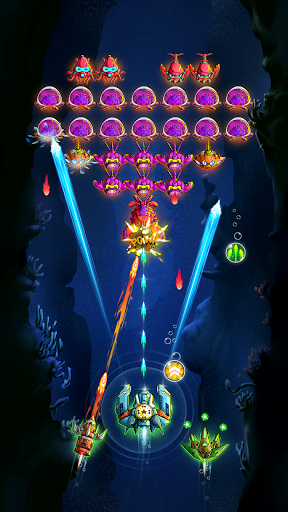 Atlantis Invaders - Galaxy Alien Shooter  screenshots 1