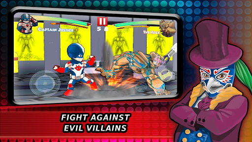 Superheroes Fighting Games Shadow Battle 7.3 screenshots 6