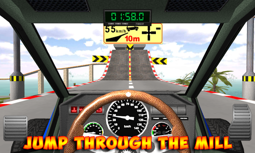 Racing stunts by car. Extreme driving apkpoly screenshots 12