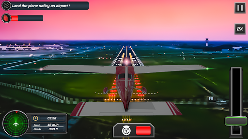 Flight Plane Simulator 3D : Airplane Flying Sim apktram screenshots 5