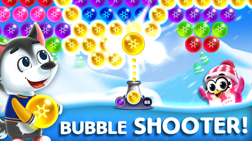 Bubble Shooter - Frozen Pop : 2021 6.7 screenshots 1