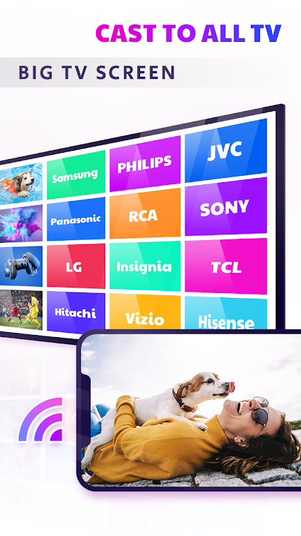 TV Cast - Anyview Cast & Smart View & Screen Share  poster 3