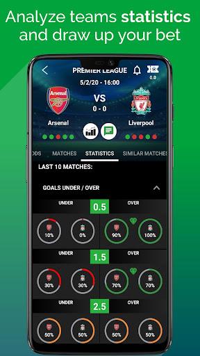 BetMines Free Football Betting Tips & Predictions 2.3 Screenshots 2