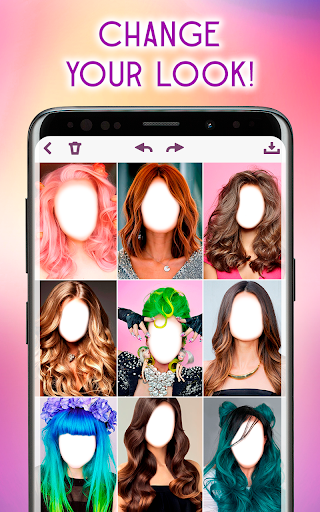 Hairstyles Photo Editor 1.3.8 Screenshots 10