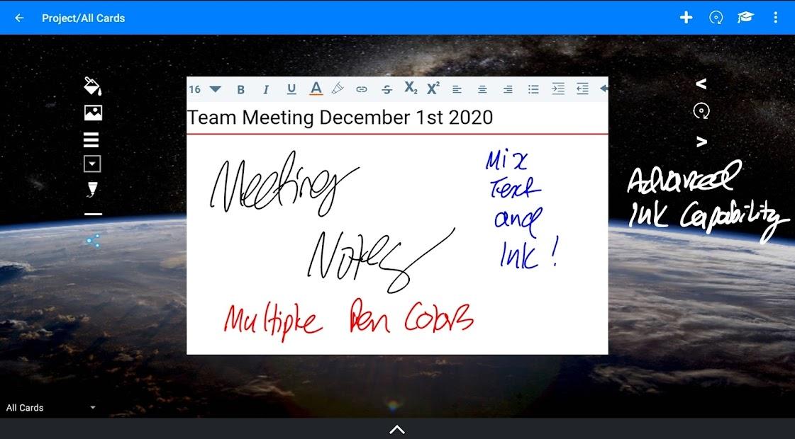 NoteDex - Index Card, Flash Card, Note Taking App screenshot 14