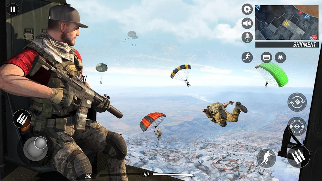 Captura 2 de Libre Pistola Tiroteo   Juegos : Nuevo   Juegos para android