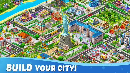 Lily City: Building metropolis modiapk screenshots 1