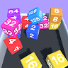 Chain Cube : 2048 3D Cube Merge - Jelly 2048 game apk icon