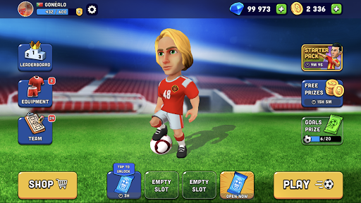 Mini Football - Mobile Soccer android2mod screenshots 14