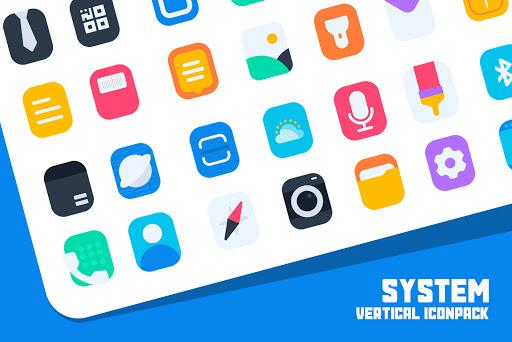 Download APK: Vertical IconPack v1.0 [Patched]