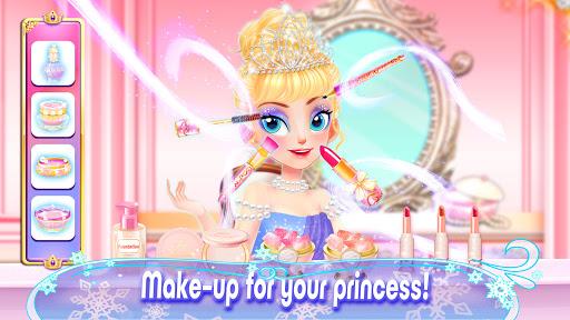 Girl Games: Princess Hair Salon Makeup Dress Up apkslow screenshots 4