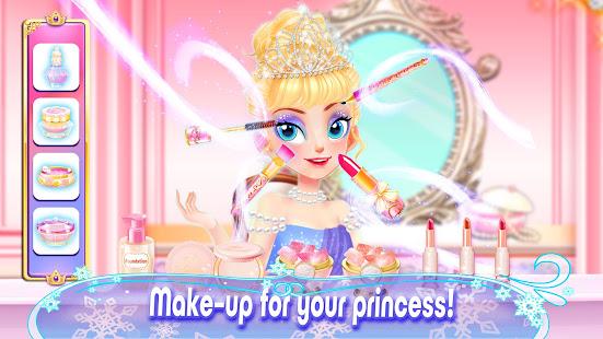 Girl Games: Princess Hair Salon Makeup Dress Up