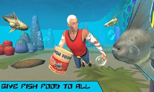 Underwater Aqua Hero Screenshot 1
