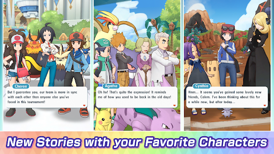 Pokemon Masters Mod APK [100% Unlimited gems] | Prince APK 6