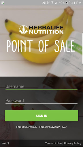 Herbalife Nutrition Point of Sale  screenshots 1