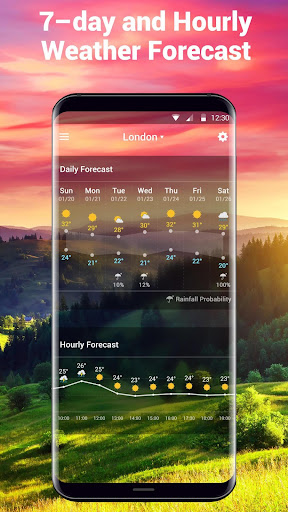 Real-time weather forecasts 16.6.0.6325_50165 Screenshots 5
