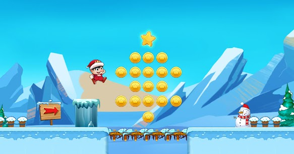 Super Bino Go 2 MOD (Unlimited Money) 2