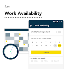 HourlyBee Workers - Last min, Part time, Full time screenshot thumbnail