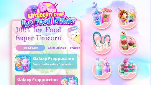 Unicorn Chef: Summer Ice Foods - Cooking Games 1.6 screenshots 6