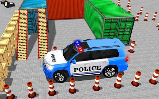 Police Jeep Spooky Stunt Parking 3D 0.4 Screenshots 2