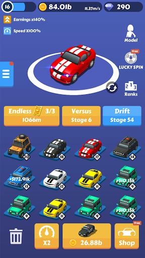 Drift Race 3D:Idle Merge Car Tycoon 1.2 screenshots 3