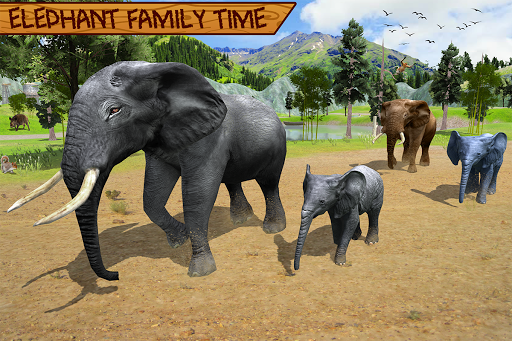 Wild Elephant Family Simulator apkpoly screenshots 11