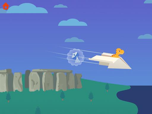 Dinosaur Plane - Plane piloting game for kids 1.1.0 screenshots 9