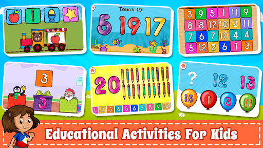 Learn Numbers 123 Kids Free Game - Count & Tracing  screenshots 15