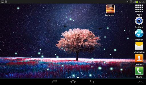 Awesome-Land Live wallpaper HD : Grow more trees screenshots 15