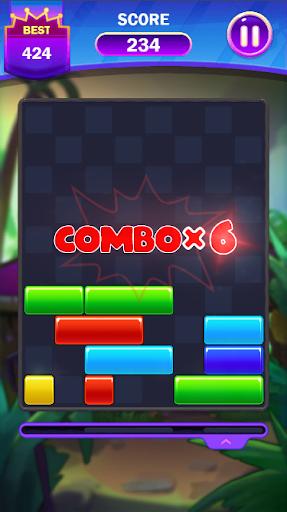 Code Triche Falling Puzzle - Funny Falling Block (Astuce) APK MOD screenshots 5