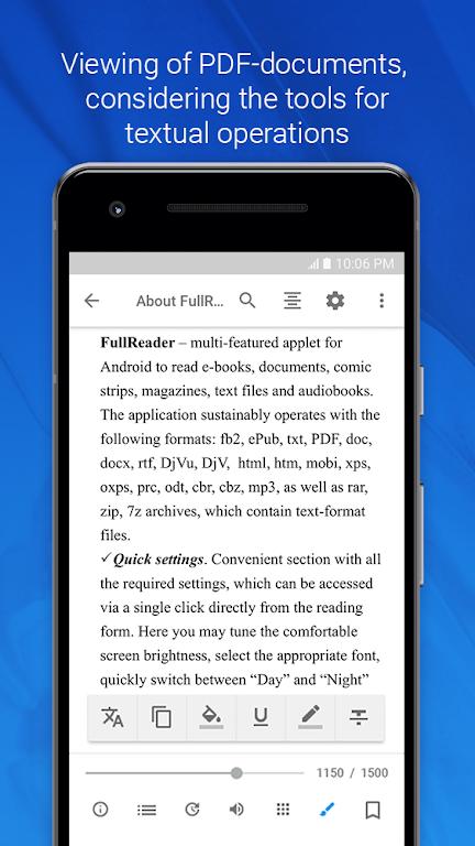 FullReader - all e-book formats reader  poster 4