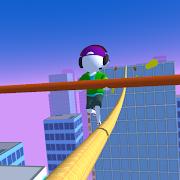 Keep Balance! Cable Runner 3D