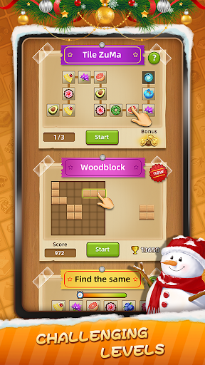 Tile Connect - Free Tile Puzzle & Match Brain Game android2mod screenshots 6
