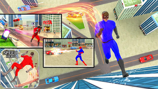 Light Speed hero: Crime Simulator: superhero games 3.4 Screenshots 9